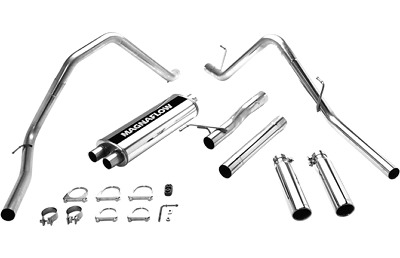 Magnaflow Exhaust System Kit-MF Series Cat-Back System fits 2003 Ram 1500 5.7L