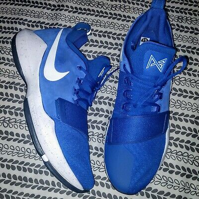 huge selection of 092f2 b2a99 Nike PG 1 Royal Blue Paul George basketball shoes men s 13 ½.. 2 3