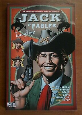 JACK OF FABLES Vol. 5: Turning Pages, Willingham, Bill, Sturges, Matthew, DC.