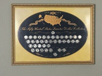 US Commemorative Gallery ~The Fifty United States Quarter Dollar Collection 1999