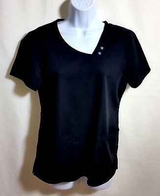 62efac6b2fc CHEROKEE LUXE WOMEN'S Scrub Top / Size Small / Pink - $14.00 | PicClick