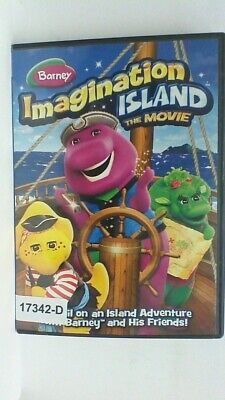 DVD  BARNEY IMAGINATION ISLAND  THE MOVIE animated  07