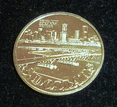 Singapore 5 Dollars 1982 Singapura Benjamin Sheares Bridge Uncirculated