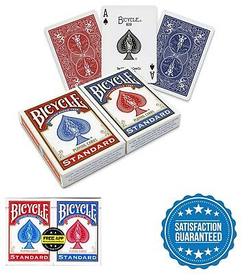 1 PACK BICYCLE Standard Index Playing Cards BLUE Poker Size