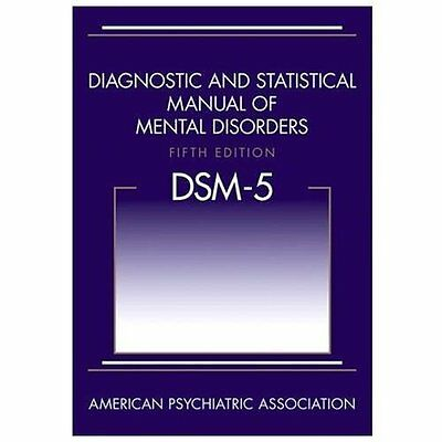 Diagnostic and Statistical Manual of Mental Disorders DSM-5 by American Psychiat