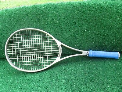 Tennis Prince CTS Lightning Mid Plus Tennis Racquet Over Wrapped 4 3/8 Grip 1989