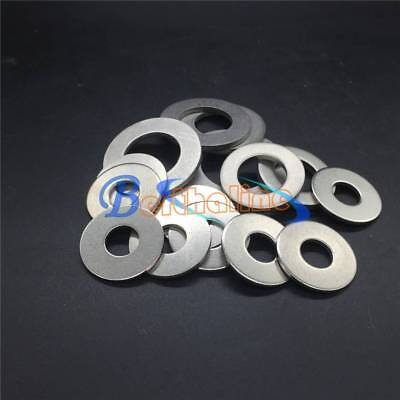 5-10PCS TITANIUM WASHERS M3 M4 M5 M6 M8 New
