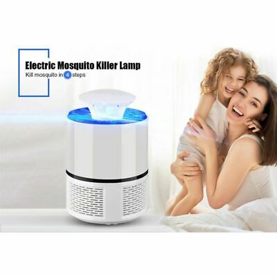 Mosquito Killer Lamp Non-toxic USB Powered LED Electric Insect Bug Fly Catcher