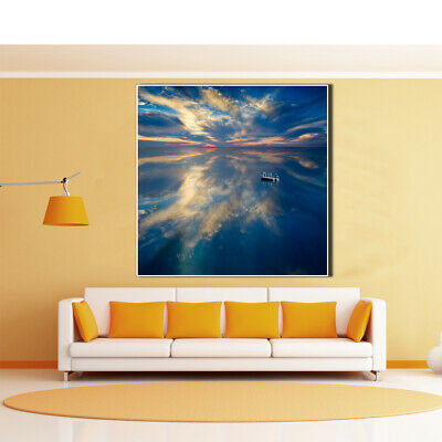Seascape Canvas Painting Poster Unframed Picture Living Room Home Wall Art Decor