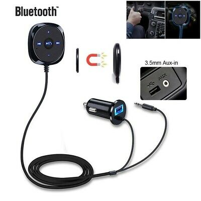 AUX-in Bluetooth Wireless Receiver Adapter Dongle for Car Stereo Audio SpeakeCYN