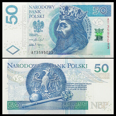 50 Zlotych UNC /> first date 1975 P-142 142a Poland