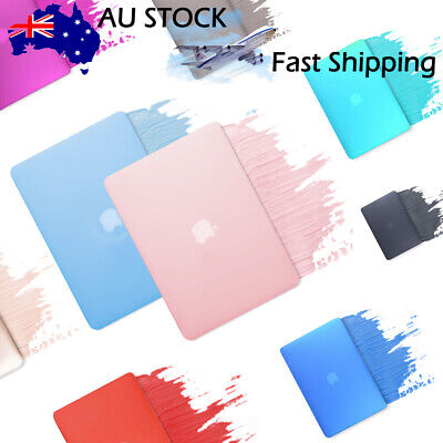 """For 2018 Macbook AIR 13"""" A1932 Rubberized Hard Case Keyboard Cover Screen Film"""