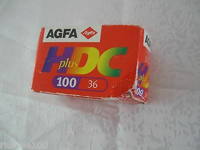AGFA Germany High Definition Color 24x36 mm Film HDC Plus 100 36 Expired 2003
