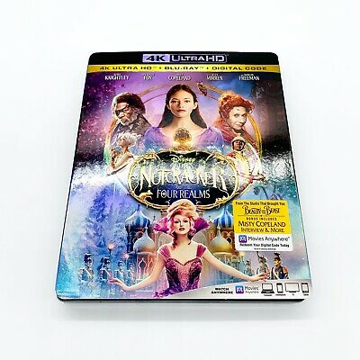 The Nutcracker and the Four Realms 4K Ultra + Blu-Ray Slipcover No Digital Code