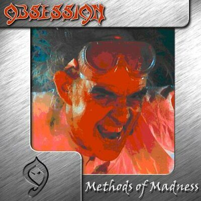 OBSESSION Methods of Madness CD 11 tracks SEALED NEW 1987/2000 Metal Mayhem USA