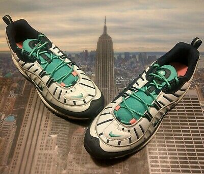 sneakers for cheap 58427 c7034 Nike Air Max 98 South Beach Tidal Wave Pure Platinum Mens Size 14 640744  005 New