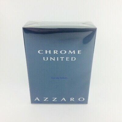 Azzaro Chrome United Eau de Toilette 200ml Nuevo