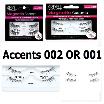 Ardell Magnetic False Eyelashes Accents 001,002-Variation WITH BEST PRICE CHEAP