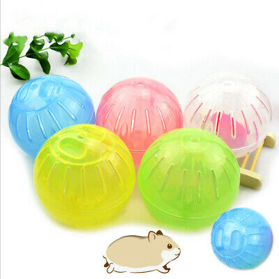 Pet Hamster Guinea Pig Exercise Running Ball Play Gyro Toy Plastic Pets Funny