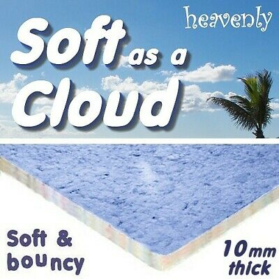 cheapest SOFT AS A CLOUD 10mm thick foam carpet underlay -buy just what you need
