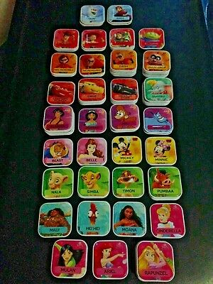 Woolworths Disney Words Tiles * Choose a Character * $2.50 per Tile FREE POSTAGE