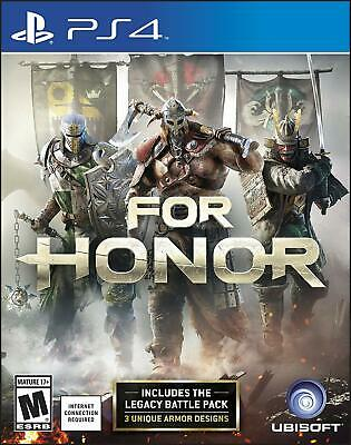 For Honor with The Legacy Battle Pack Playstation 4 PS4