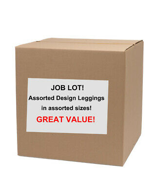 Job Lot Wholesale Box 21X Quality Branded Mixed Leggings Yoga Pants Made In UK