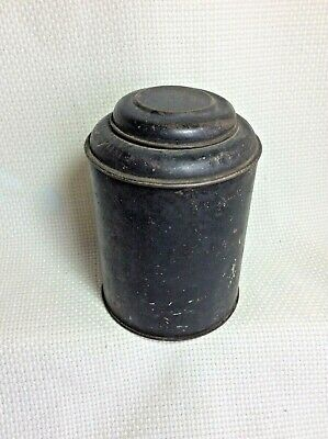 Reduced!!  Primitive Lidded Coffee/Sugar Tin