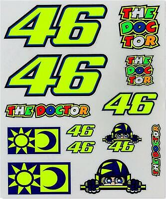 Valentino Rossi VR46 Large Stickers Set 2019