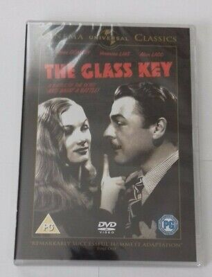 The Glass Key: Alan Ladd, Brian Donlevy, Veronica Lake (DVD) New & Sealed R2