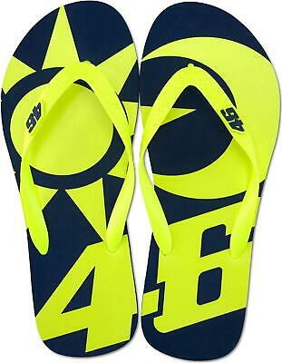 Valentino Rossi VR46 Sun and Moon Flip Flops Sandals 2019