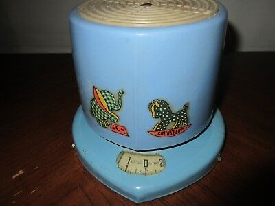 Vintage  Baby Blue Scale 24lbs