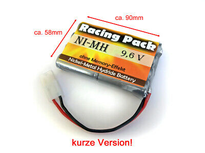 Racing Pack für Carson RC-Pack 9,6V AA 1400mAh Tamiya L4x2 NiMH kurze Version