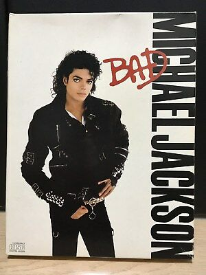 RARE MICHAEL JACKSON BAD COMPACT DISC JAPAN CD SPECIAL BOX SET Unused #1