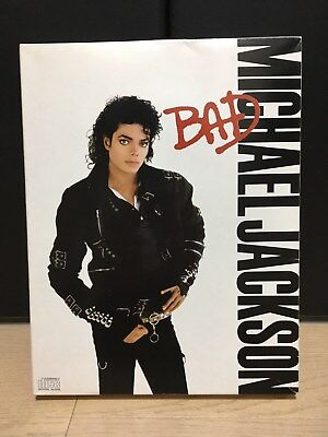 RARE MICHAEL JACKSON BAD COMPACT DISC JAPAN CD SPECIAL BOX SET Unused #2