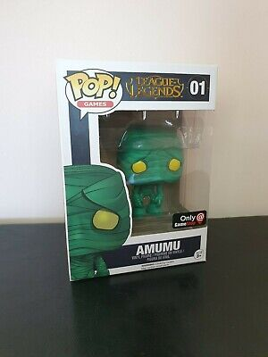 Amumu Pop Vinyl - Gamestop Exclusive - Funko - League of Legends