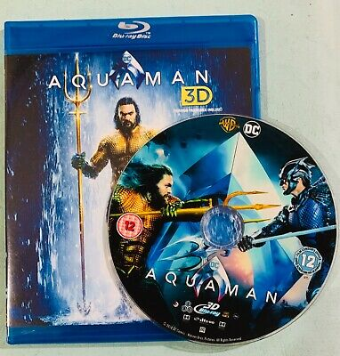 Aquaman 3D Blu-ray Region Free Best Deal