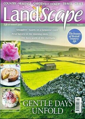 Landscape Magazine May 2019 ~ New With Free Fast P&p ~