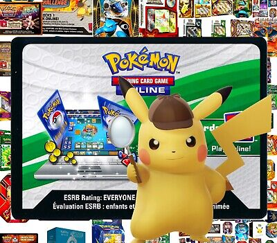 DETECTIVE PIKACHU CODE - Booster GX Case Special Pokemon Online Codes Email Fast