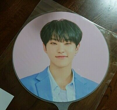 HOSHI FAN SEVENTEEN CARAT LAND in SEOUL Limited Official goods UCHIWA picket MD