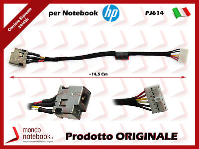 AC DC POWER JACK CABLE HARNESS FOR HP 15-b038ca 15-b041dx 15-b119wm 15-b120us