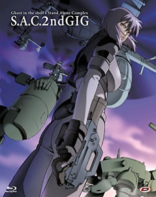 Ghost In The Shell - Stand Alone Complex 2Nd Gig (Eps 01 (UK IMPORT) BLU-RAY NEW