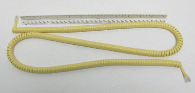 New Telephone Handset Cord - 25' Yellow Modular