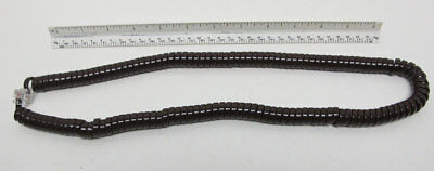 New Telephone Handset Cord - 15' Brown Modular