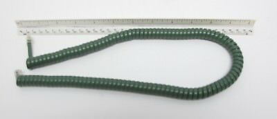 New Telephone Handset Cord - 12' Olive Green Modular