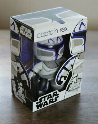 STAR WARS CAPTAIN REX Clone Trooper Mighty Muggs 6 inch FIGURE 2008 Hasbro