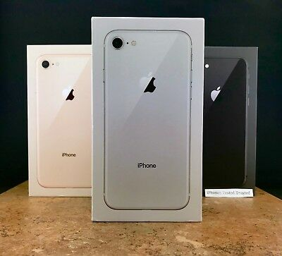 *Sealed* Apple iPhone 8 64GB - 256GB Unlocked Sprint AT&T Space Gray Silver Gold