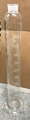 Pyrex Mixing Cylinder 1000 mL Chemistry Lab Glassware