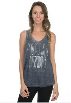 4138825e Dallas Cowboys Small Clement Tank Top Womens Shirt Her Style Ladies New Cute