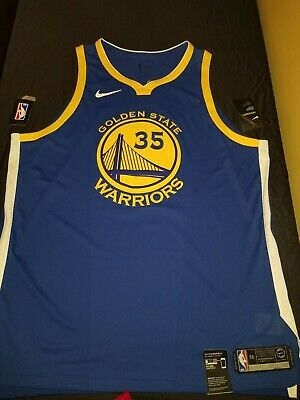 half off cbfdf 3d9b1 NIKE AEROSWIFT KEVIN Durant Warriors Icon Authentic Jersey NEW MENS Size 56  2xl